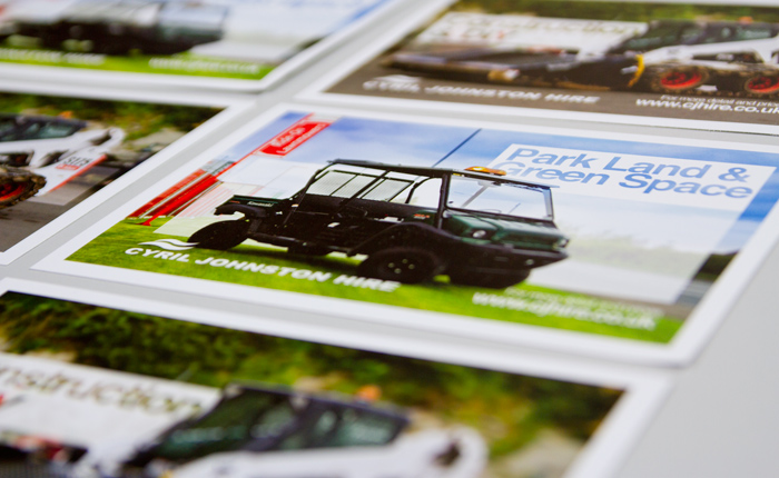 Cyril Johnston CJ Hire Postcards Print 03