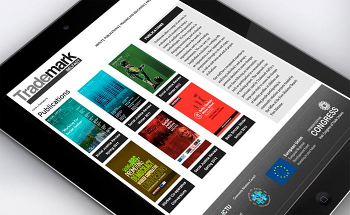 Trademark Belfast Website Tablet 2