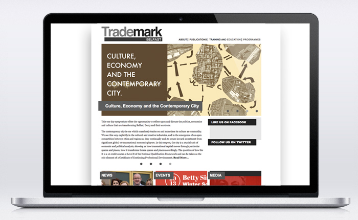 Trademark Belfast Website Laptop 1