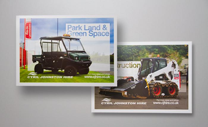 Cyril Johnston CJ Hire Postcards Print 01