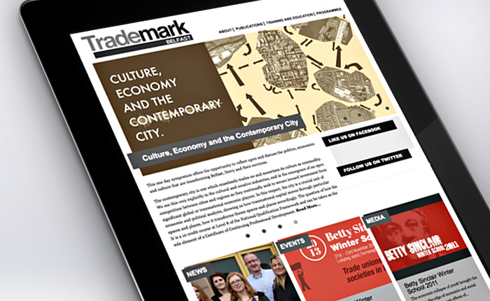 Trademark Belfast Website Tablet 1