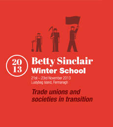 Event Programme Print Design for Trademark Belfast's Betty Sinclair Winter School