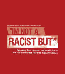 Booklet Print Design for Irish Congress of Trade Unions (ICTU)'s I'm Not A Racist But...