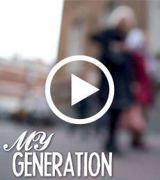 Film for Golden Thread Gallery's 'My Generation' project
