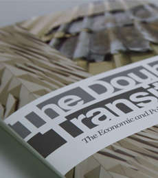 Booklet Print Design for Trademark's The Double Transition