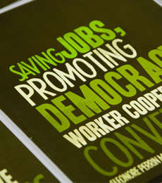 Booklet Print Design for Trademark Belfast's Worker Co-operative Conversions
