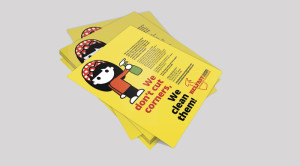 Belfast Cleaning Society Leaflets