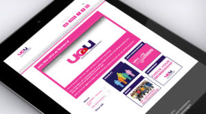 UCU Queen's Branch Website Tablet