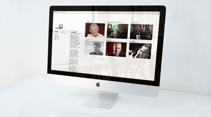 Clean Slate TV Responsive Website Design - Desktop