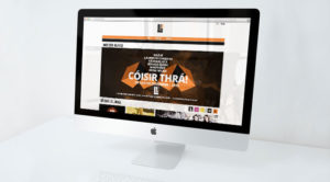 Liú Lúnasa Festival Responsive Website Design - Desktop