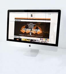 Liú Lúnasa Festival Responsive Website Design - Thumbnail